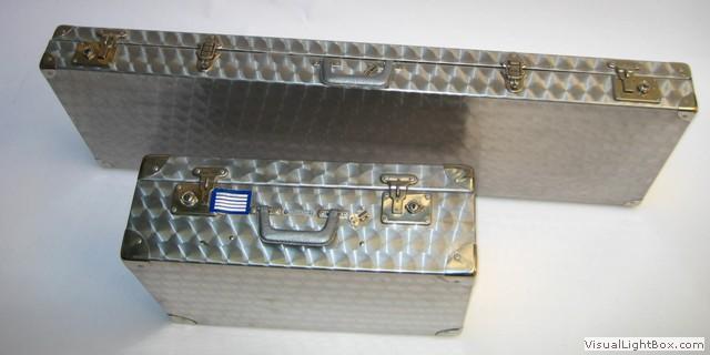 valise et caisse en aluminium sur mesure valise metallique. Black Bedroom Furniture Sets. Home Design Ideas
